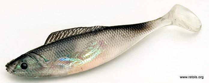 silicone fish, retols, Soft Baits