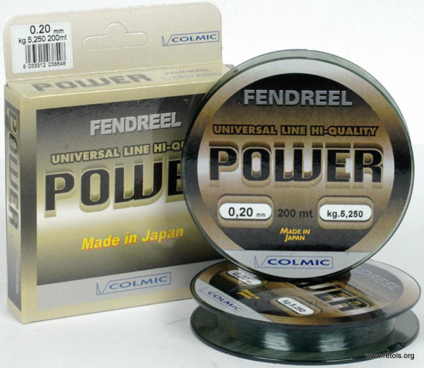 Colmic Fendreel Power 0.25mm/1000m
