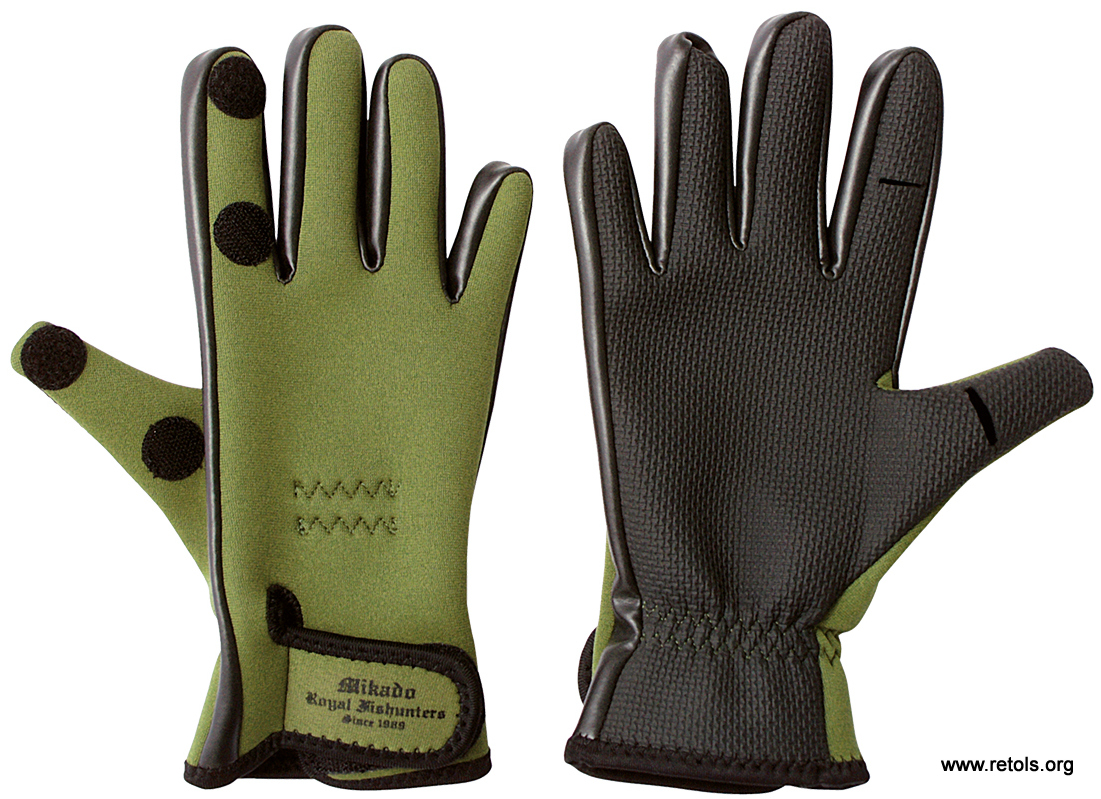 "Fishing Gloves size ""XL"" UMR-03"